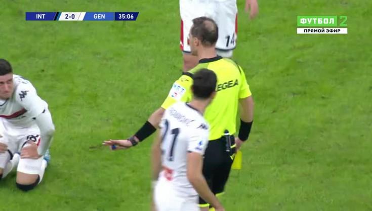 ПрЯмой эфир футбол интер- дженоа