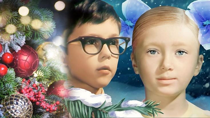 Картинки новогодние приключения вити и маши